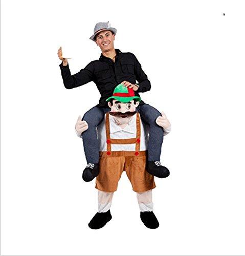 r Schweingyback Lustiges Kostüm Halloween Kostüm Cosplay Bier Mann (T-rex Kleinkind-halloween-kostüm)