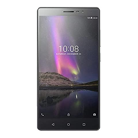Lenovo ZA190002PL GUNMETAL Smartphone Phab 2 (32GB Speicher, LTE, Dual SIM, Android 6.0 Marshmallow, 16,25 cm (6,4 Zoll)) grau