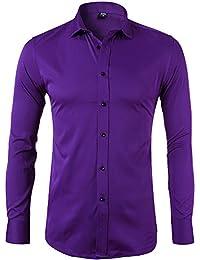 21dc13990f Amazon.es  Morado - Camisas   Camisetas