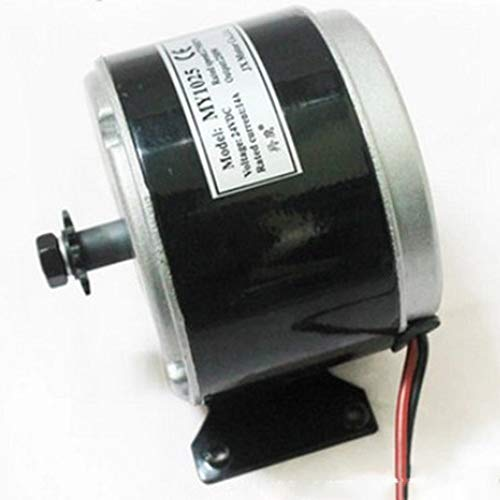 Alomejor El Motor cepill/ó el regulador de Velocidad Cepillado Motor del regulador 24V 500W para la Bicicleta el/éctrica