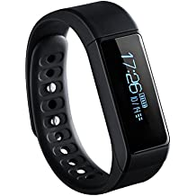 VicTsing BAND 3, Pulsera Deportiva Impermeable, Pulsera Actividad, Podómetro, Monitor de Calorías, Monitor de Sueño, Resistente al agua IP67, Bluetooth compatible con IOS y Android