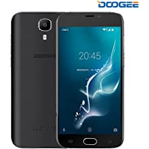 Cellulari in Offerta, DOOGEE X9 Pro Dual SIM Smartphone Android 6.0 - 4G Telefonia Mobile con 5.5 Pollici HD IPS Schermo - 3000mAh - 2GB RAM+16GB ROM - 8.0MP Fotocamera Digitale e Sensore di Impronte Digitali - Nero