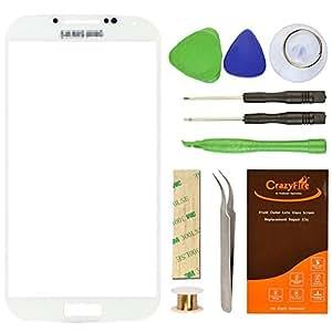 Samsung Galaxy S4 Front Glas Touchscreen,CrazyFire Front