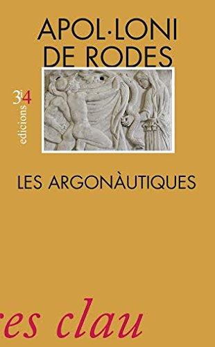 Argonàutiques,Les por Apol.Loni De Rodes