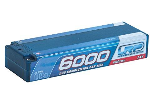 Preisvergleich Produktbild LRP Electronic 430211 - LiPo 1/10 Competition Car Line Hardcase 6000, 110/55C, 7.4 V
