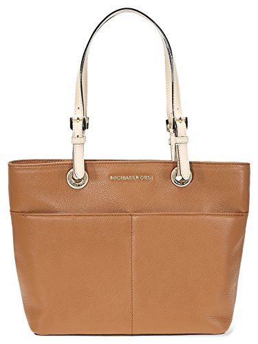Top Handle Bag (Michael Kors Women's Bedford Leather Top-Handle Bag Tote - Acorn)