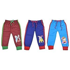 Kuchipoo Unisex Regular Fit Cotton Pyjama Bottom (Pack of 3)
