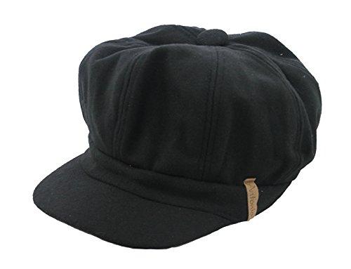 Damen-Ballonmütze 'Babette' schwarz