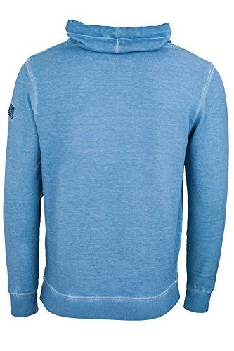 Kitaro Herren Pullover Sweatshirt Scandinavian Blau