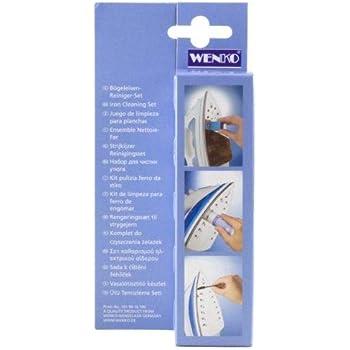 Wenko Bügeleisen Bügeleisenreiniger Reiniger Set Bürste Reinigungsstift Bügeln