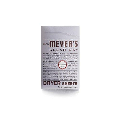 Confezione da 1fogli asciugatrice x Mrs. Meyer S-lavanda-80fogli