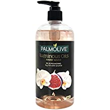 Palmolive Luminous Oils Rejuvenating Liquid Hand Wash, 500ml Dispenser Bottle with Fig Oil and Orchid Extracts,