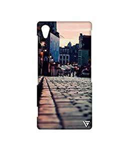 Vogueshell Roodside Look Printed Symmetry PRO Series Hard Back Case for Sony Xperia Z2