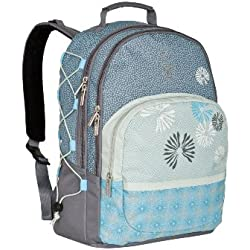 Lassig Casual Backpack Diaper Bag, Bloom Ash