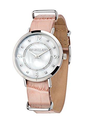 Morellato versiilla r0151133508 - orologio da polso da donna, analogico, al quarzo, cinturino in pelle
