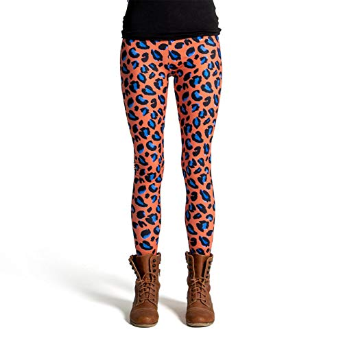 cosey - Leo Line Leggings - Animalprint - im Leopardenmuster Design 1