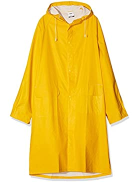 Neri - Impermeable de color amarillo, talla XXL