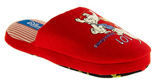 Footwear Studio , Chaussons pour fille Rouge - Rojo - Red - 101 Dalmations