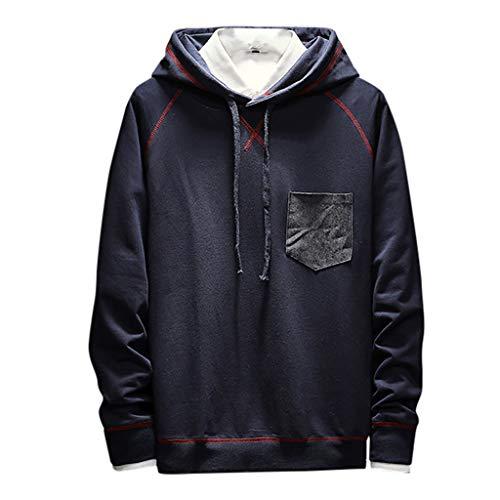 Fenverk Design Mode Hoodie Sweatshirt Herren Herren Herbst Winter Mode Schlank Entworfene Tops Herrenbekleidung Winter Warm Mantel Bequemes Sweatshirt M-5XL (G (Bequem Kostüm)