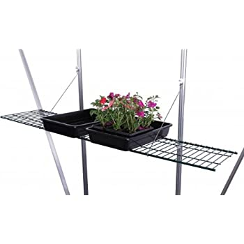 Palram Greenhouse Accessory Heavy Duty Shelf Kit Amazon