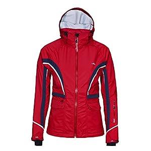 41OrYfMsTlL. SS300  - Jeff Green Ladies' Unpadded Breathable Waterproof Functional Jacket Lala 20,000mm Water Column and Removable Hood