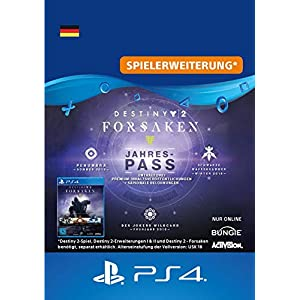 Destiny 2: Forsaken Jahrespass – Jahrespass Edition | PS4 Download Code – deutsches Konto