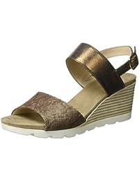 Caprice Damen 28701 Offene Sandalen mit Keilabsatz