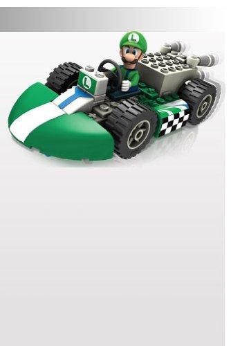K'nex 71693 Luigi Figur und Standard Kart Bausatz (Luigi Kart Knex)