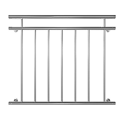 Sailun® Garde-corps à barres en acier inoxydable pour balcon