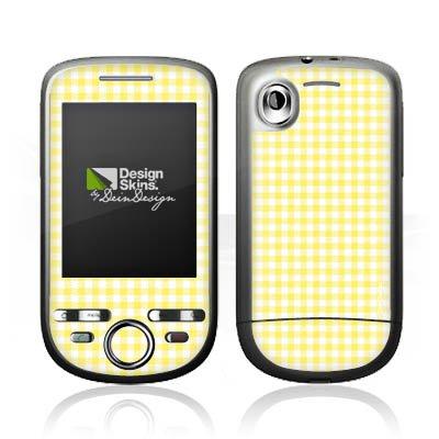DeinDesign HTC Tattoo Case Skin Sticker aus Vinyl-Folie Aufkleber Karo Gelb Muster