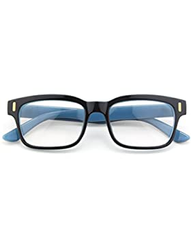 CGID CN84 Retro Clubmaster Wayfarer Anteojos Lente Claro Gafas Para Mujer y Hombre