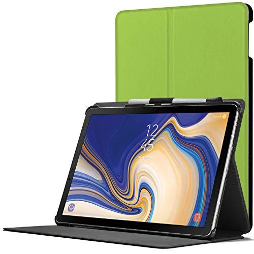 Forefront Cases Smart Hülle kompatibel für Samsung Galaxy Tab S4 10.5 | S-Pen Stifthalter | Magnetische Cover Galaxy Tab S4 10.5 Zoll Tablet-PC SM-T830/T835 | Auto Schlaf Wach Dünn Leicht | Grün
