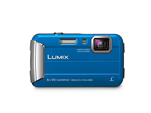 Panasonic DMC-TS30A Lumix Active Lifestyle Tough Camera,Blue