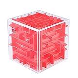 WXXW 3D Cube Puzzle Labyrinthe Enfants Jeu de Main Boîte de Jeux Ball Jouet...