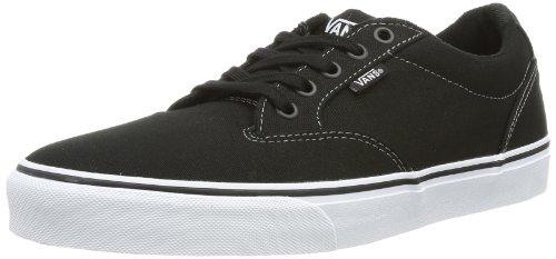 Vans Winston, Men's Low-Top Sneakers, Black (Canvas), 9 UK ( 43 EU) Vans Winston, Men's Low-Top Sneakers, Black (Canvas), 9 UK ( 43 EU) 41OreS 2BpbtL