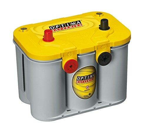 Optima Yellow Top YT U 4,2 BCI D34/78 12V 55AH Batterie (Batterie Top Auto Yellow)