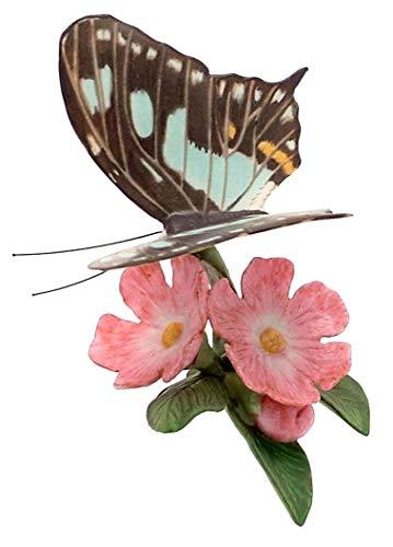 Franklin Porcelain Papillons du Monde Malachite Papillon Décorations