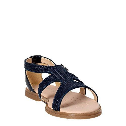 Geox J Karly J6235a0asbn, Sandales Fille Bleu