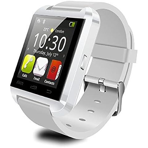 Smartwatch Elegante el sueño de contador de paso U8 seguimiento niños perdido salud monitoreo seguimiento anti-Bluetooth teléfono reloj , white