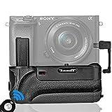 Samtian Vertikaler Batteriegriff Akkugriff Battery Grip für Sony A6300 A6000 SLR Digitalkameras mit IR Control