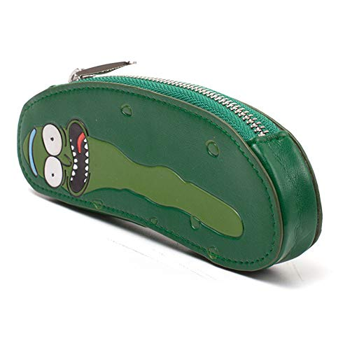 Rick and Morty Morty Pickle Shaped Coin Purse, Green (GW334456RMT) Monedero, 16 cm, Verde (Green)