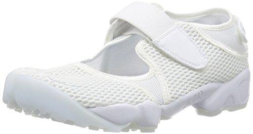 Nike - Wmns Air Rift Br, Scarpe sportive Unisex – Adulto Bianco (Blanco (White / Pure Platinum))