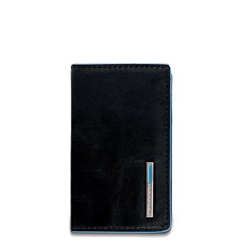 Piquadro Visitenkartenhüllen Portabiglietti Da Visita Blue Square Schwarz 0. L -