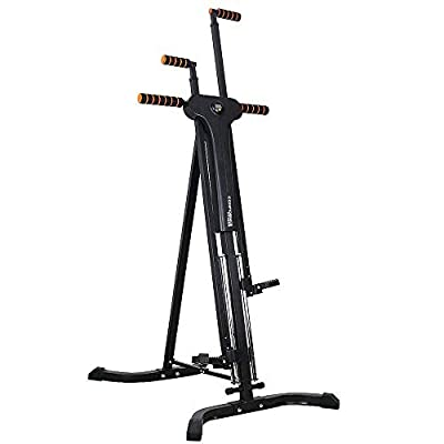 Confidence Fitness Vertical Climber Folding Climbing Exercise Machine by Confidence