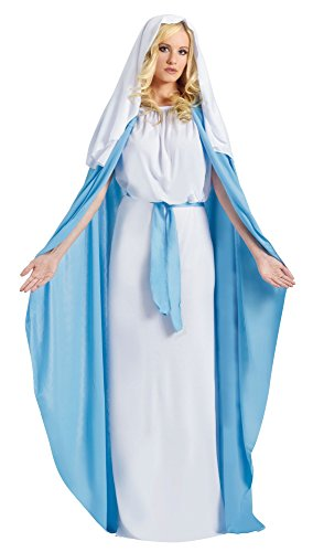Imagen de fun world  disfraz de virgen maría para mujer, talla única 110814