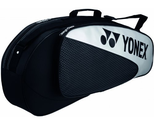 Yonex Racket Bag für 3 Rackets Badminton Black/Silver