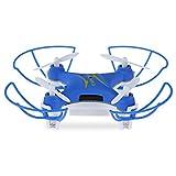 eyeCam ec9169Mini Nano Drone con telecomando FPV RC Quadcopter con 0.3MP HD fotocamera Altitude Hold 4CH con luci LED 2.4G 6Axis per Apple & Android automatico rotazione di 360°   modalità headless