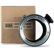 Gobe - Adaptador de lentes Nikon de montura F para cuerpo de cámara Sony de montura E + fijación de trípode