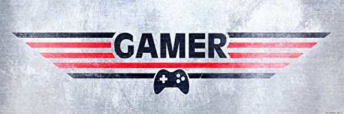 1art1® Gaming - Gamer Póster Impresión Artística (91 x 30cm)