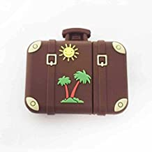 Suitcase retro vintage USB Flash Drive 16GB - Memory Stick Data Storage - Pendrive - Brown - Unique Original Design